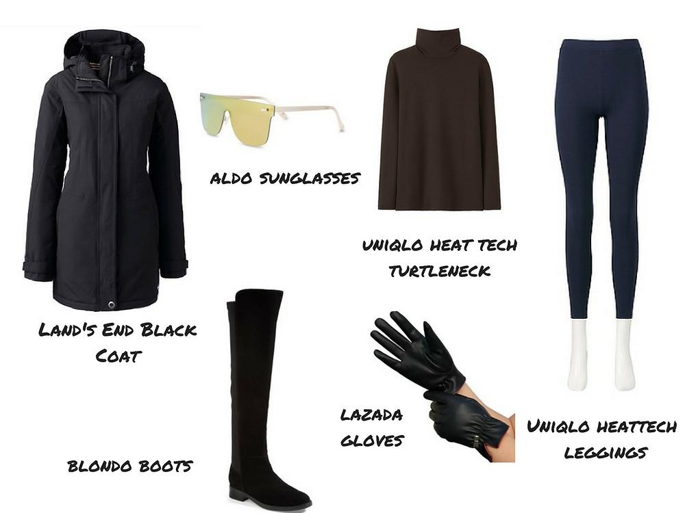 Travel outfit ideas for different travel destinations