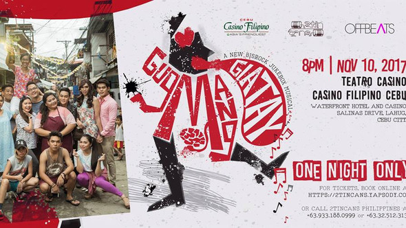 Gugmang Giatay Musical : Showing For One Night Only In Cebu!