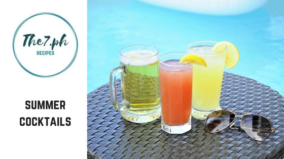 3 Easy, Fun and Yummy Cocktails to Try Out This Summer