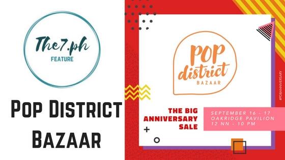 Pop District Bazaar Turns 2 This Year!