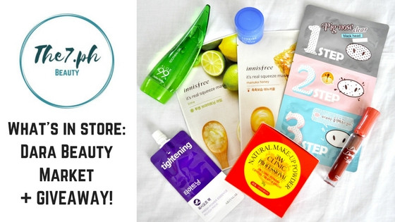 What's In Stores : What We Love From Dara Beauty Market + Exciting Giveaway!