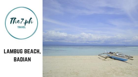 Beaches to visit near cebu : badian