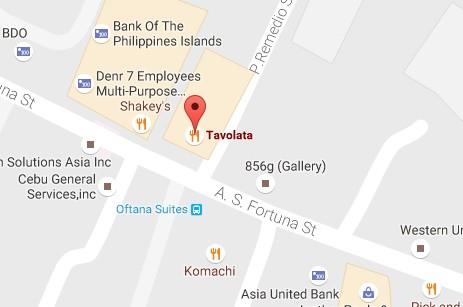 Food Map in Cebu : 7 Restaurants to Try Out in AS Fortuna