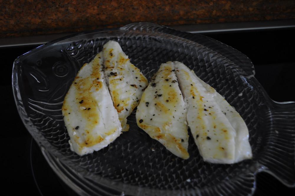 The Easiest Lemon Butter Garlic Fish