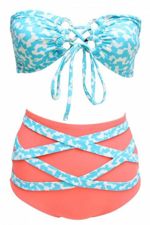 soak swimwear high wasit bikini