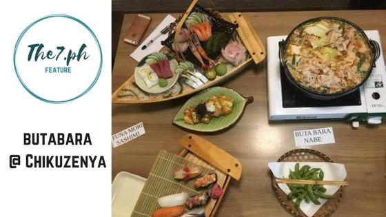 A Little Taste of Japan in Cebu at Kushiyaki Chikuzenya Japanese Restaurant