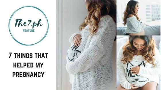 7 Things that Helped Make My Pregnancy Easier