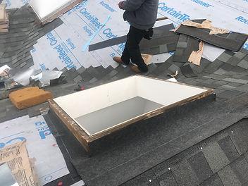 Skylight repair, Roof Leak Repair, Sealant, Dallas Roofer