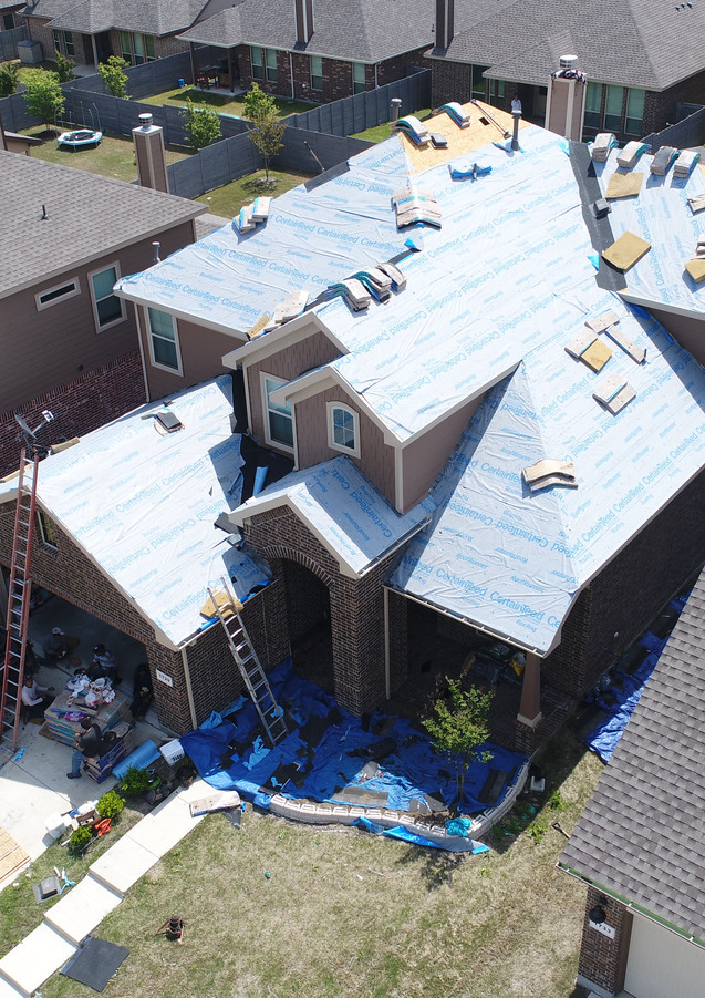 Roofing Company Dallas, Synthetic Underlayment, Synthetic Felt, Roofer DFW