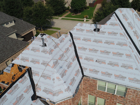 What does a new roof cost in Dallas, TX?