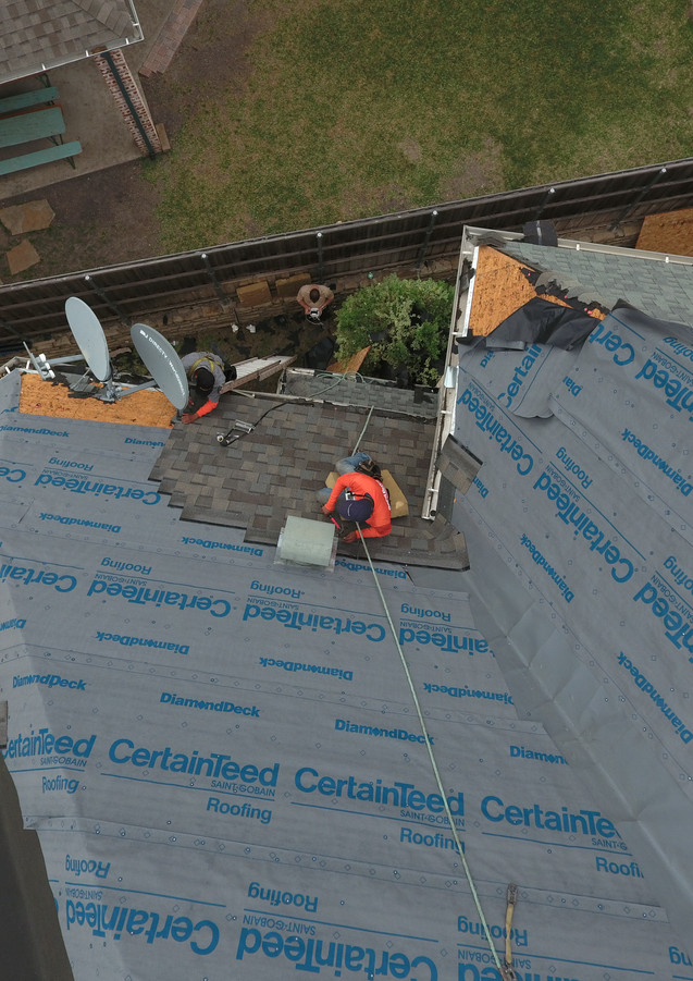 Certainteed Shingles, Roofing Company Dallas, Best Roofer DFW, Hand Nail roofing
