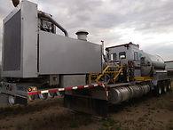 Intermediate Rate Tridem 720k SCFH 15k Pump Trailer