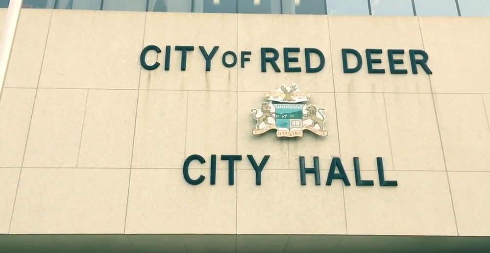 red deer city hall building