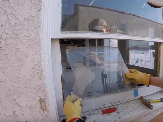 How To Fix Broken Glass Window