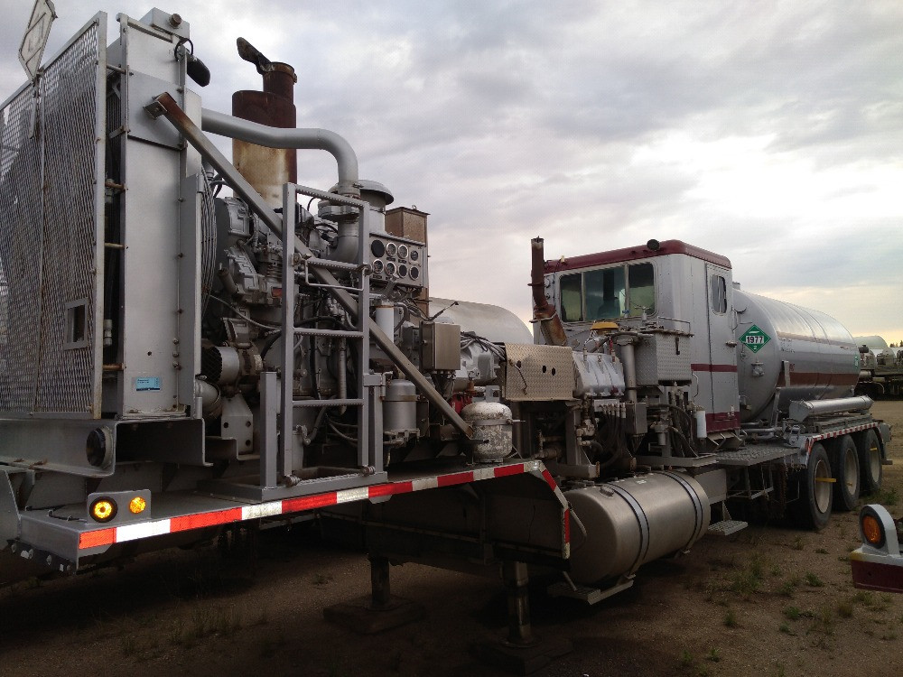 2000 Albins N2 Pump Trailer