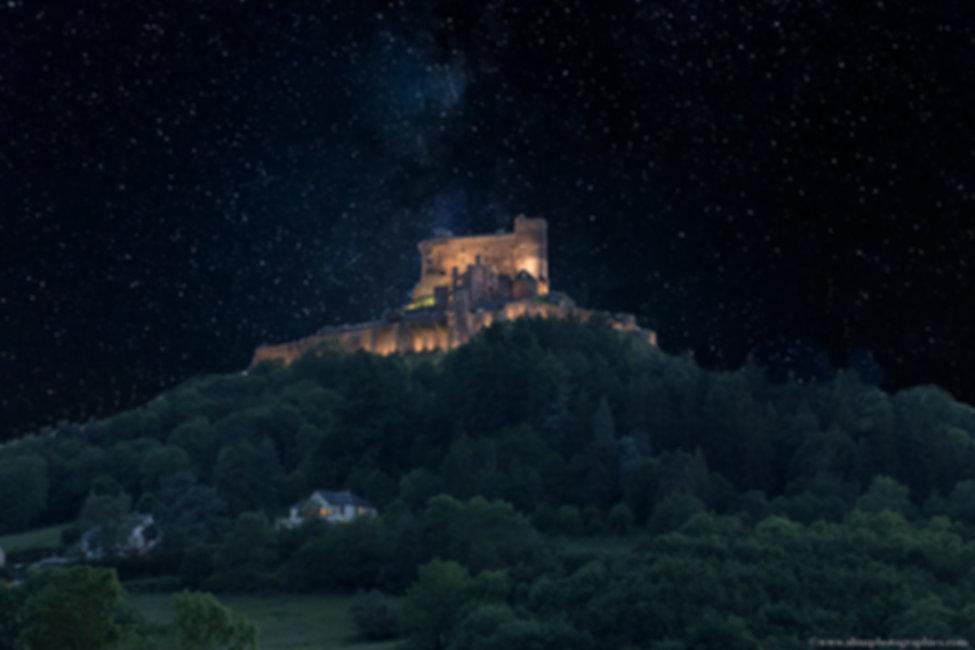 Chateau de Murol | Nuit étoilée