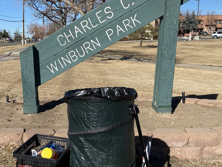 Cleanup at Charles C. Winburn Park Provided by HELPCO