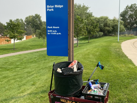 Beautification of Briar Ridge Park Provided by HELPCO