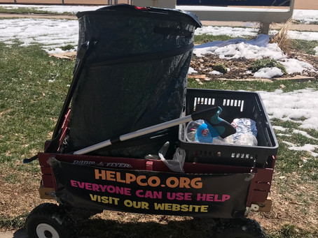 HELPCO Betters Bronco Park With Cleanup