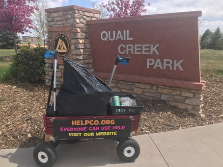Quail Creek Park Cleanup Completed By HELPCO