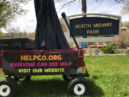 Mission Accomplished By HELPCO For North Midway Park Cleanup