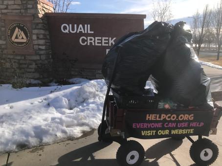 Quail Creek Park Cleanup A Huge Success
