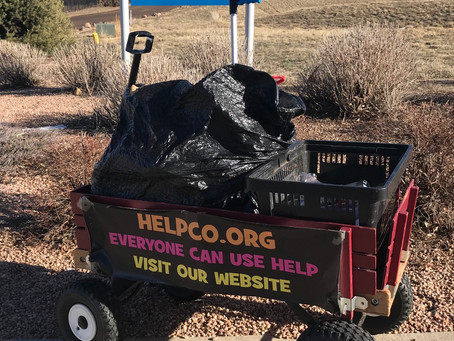 HELPCO Helps Homestead Hills Park With Pickup