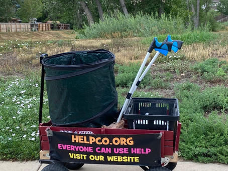 Cleanup at Cottonwood Park Provided by HELPCO