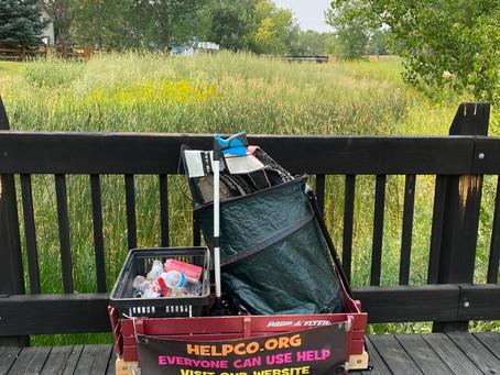 HELPCO Welcomed at Woodbridge Station Park for Pickup