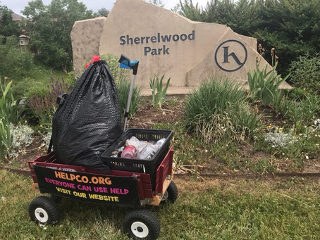 HELPCO Stops At Sherrelwood Park For Pickup