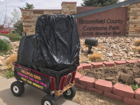Broomfield County Commons Park Cleanup Was A Big Success