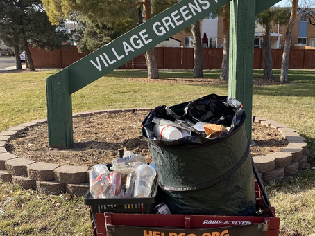 Village Greens Park Gets Visit From HELPCO