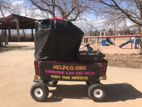 HELPCO Stops By Squires Park For Pickup