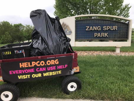 HELPCO Cleans Zang Spur Park