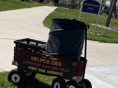 Beautification of Brandywine South Park Provided by HELPCO