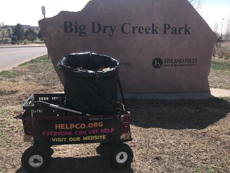 Beautification of Big Dry Creek Park Performed By HELPCO