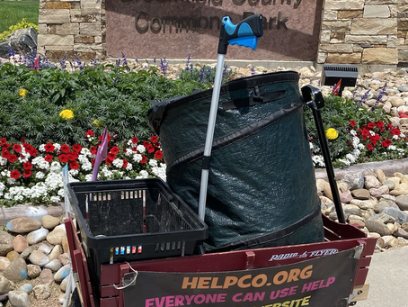 HELPCO Beautified Broomfield County Commons Park With Pickup