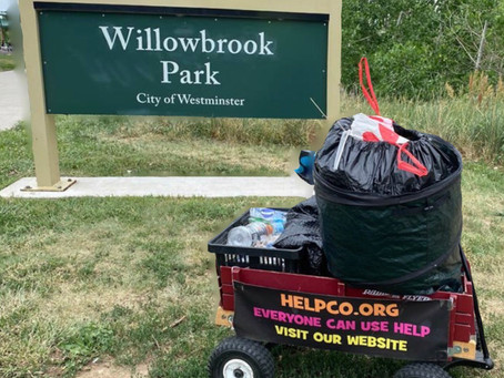 HELPCO Worked at Willowbrook Park for Pickup