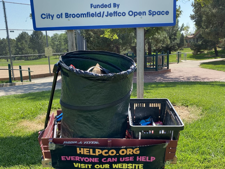 HELPCO Goes to Greenway Park for Latest Pickup