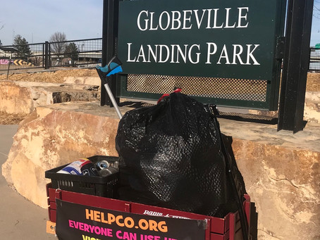 HELPCO Goes To Globeville Landing Park For Cleanup