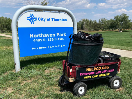 Northaven Park Noticeably Neater After Visit From HELPCO