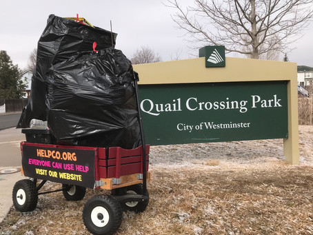 Another Successful Cleanup By HELPCO At Quail Crossing Park