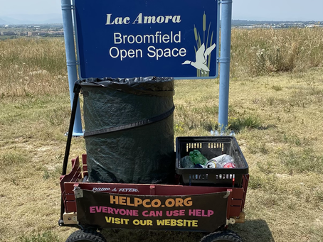 HELPCO Helped Lac Amora Park With Latest Cleanup