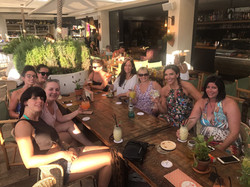 Yoga students in Ibiza 2017