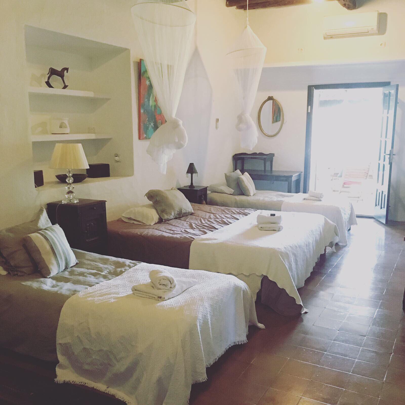 Yoga holiday - Ananda bedrooms