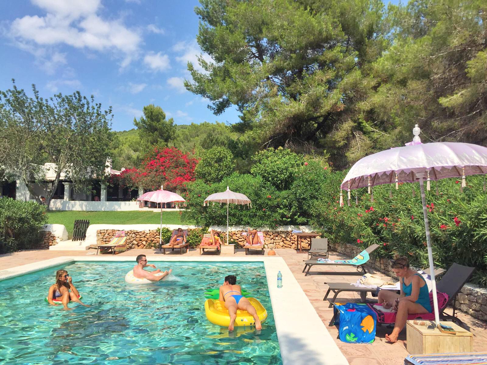 Ananda's swimming pool, St.Eulalia