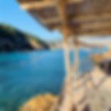 Benirras beach Ibiza, the perfect location for Ananda Yoga Retreats Ibiza