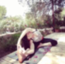 Susi Wrenshaw -Yoga teacher at Ananda retreats in Ibiza