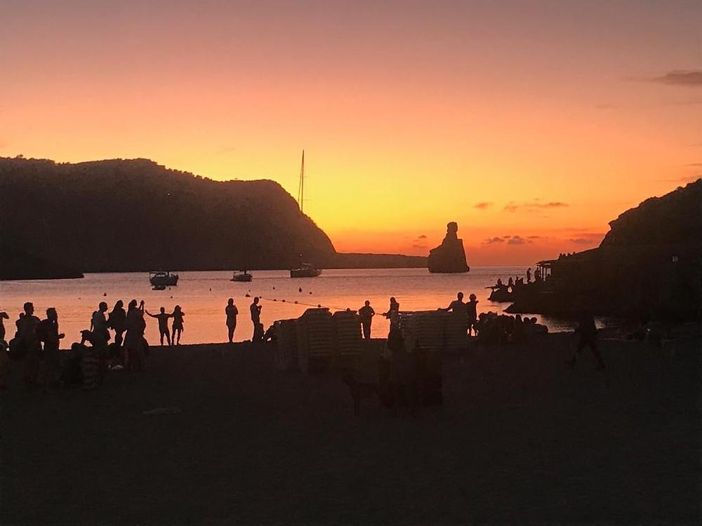 Ibiza Yoga holiday at Benirras beach with Ananda Yoga Retreats Ibiza