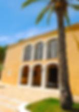 Ananda Yoga retreast Ibiza - Colonial Villa frontage